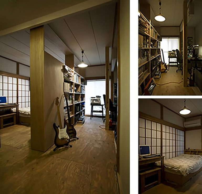 昭和レトロにリノベーション。築60年の一軒家の味わいを活かす