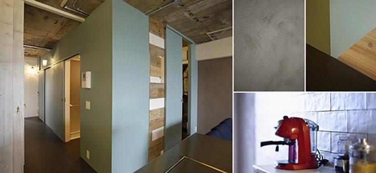 素材、色味、直天井。要素の共演から生まれる居心地