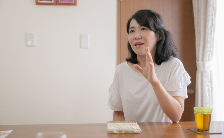 高橋洋子さんインタビュー