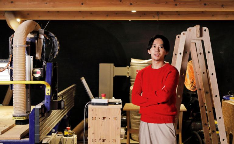 秋吉浩気さんインタビュー デジファブで叶える贅沢で頑張らない暮らし方