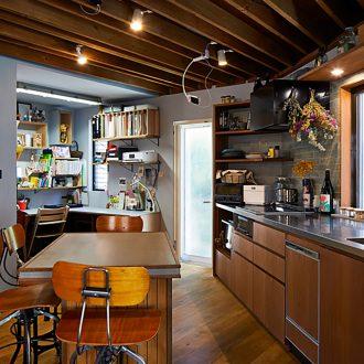 クリエイティブな家づくりと住み開き