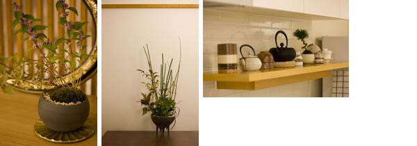 日本の伝統工芸品や和の素材をふんだんに使い、味わいを育てていく暮らし