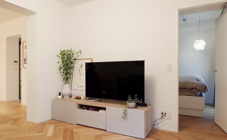 北欧家具とアートのある暮らし