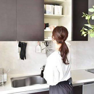 OURHOMEEmiさんの、効率を上げて食事の時間をゆっくり楽しむキッチン