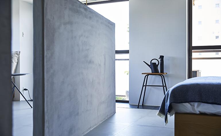 「働く」と「住む」と斜めの壁
