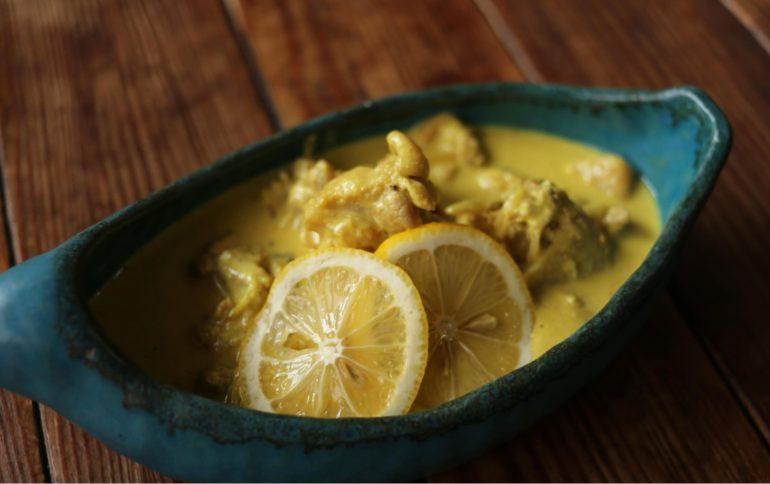 幸せの黄色いレモンカレー