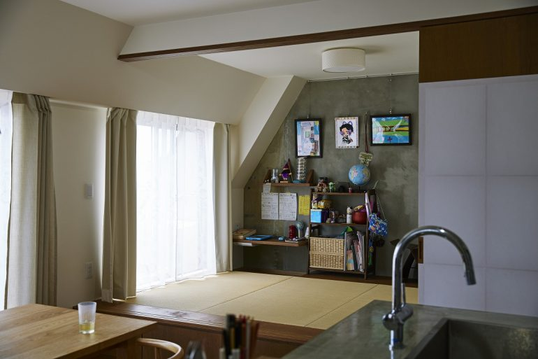 スカイツリーを見上げて、家飲みキッチン007