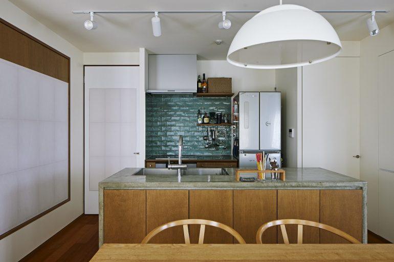 スカイツリーを見上げて、家飲みキッチン002